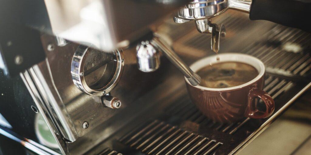 kawa z ekspresu do kawy